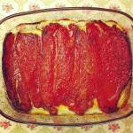 Pimientos confitados al horno con su jugo