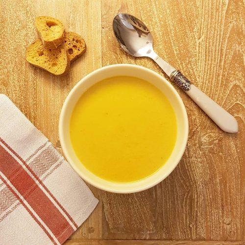 Crema de porro i pastanaga