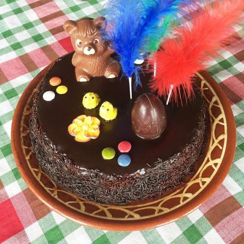 Almívar per banyar pastissos