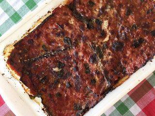 Albergínies a la parmesana