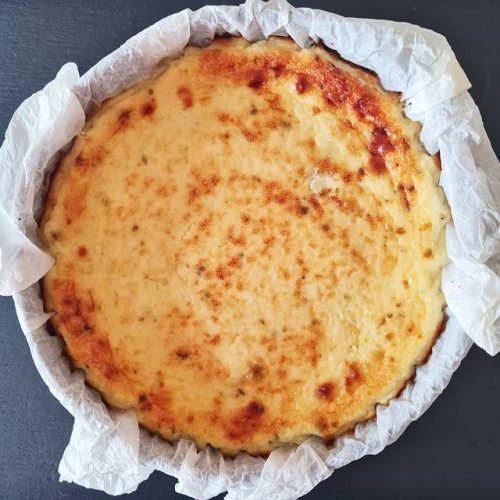Pastel de queso cremoso