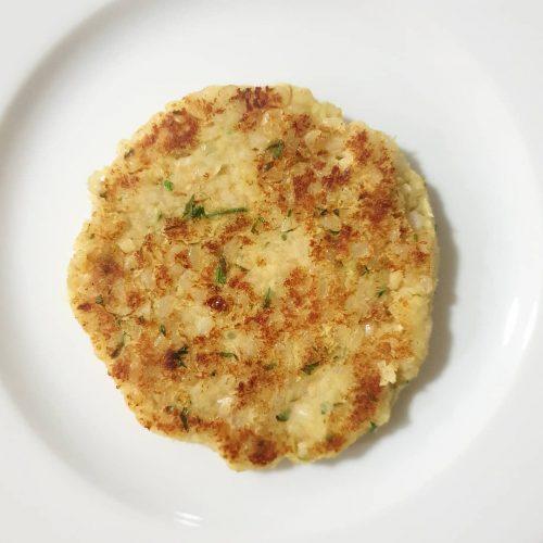 Hambuguesa vegetal de mongetes i arròs